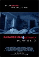 Paranormal Activity 4 - Vietnamese Movie Poster (xs thumbnail)