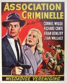 The Big Combo - Belgian Movie Poster (xs thumbnail)