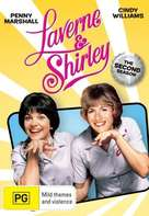 """Laverne & Shirley"" - Australian DVD movie cover (xs thumbnail)"