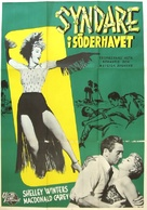 South Sea Sinner - Swedish Movie Poster (xs thumbnail)