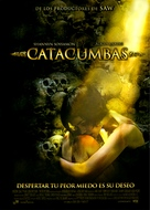 Catacombs - Portuguese Movie Cover (xs thumbnail)