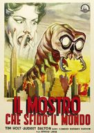 The Monster That Challenged the World - Italian Movie Poster (xs thumbnail)