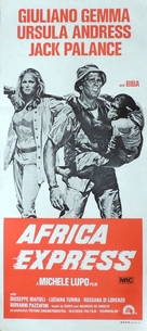 Africa Express - Australian Movie Poster (xs thumbnail)