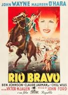 Rio Grande - Italian Movie Poster (xs thumbnail)