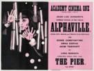 Alphaville, une étrange aventure de Lemmy Caution - British Movie Poster (xs thumbnail)