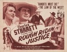 Rough Ridin' Justice - Movie Poster (xs thumbnail)
