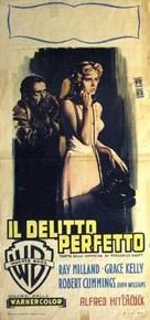 Dial M for Murder - Italian Movie Poster (xs thumbnail)