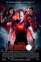 Bloodshot - Romanian Movie Poster (xs thumbnail)