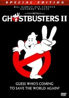 Ghostbusters II - DVD movie cover (xs thumbnail)
