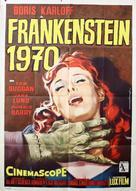 Frankenstein - 1970 - Italian Movie Poster (xs thumbnail)