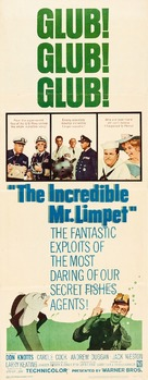 The Incredible Mr. Limpet - Movie Poster (xs thumbnail)
