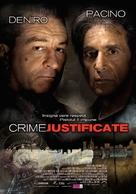 Righteous Kill - Romanian Movie Poster (xs thumbnail)