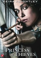 Princess of Thieves - Belgian DVD cover (xs thumbnail)