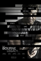 The Bourne Legacy - Italian Movie Poster (xs thumbnail)