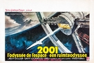 2001: A Space Odyssey - Belgian Movie Poster (xs thumbnail)