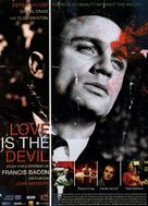Love Is the Devil: Study for a Portrait of Francis Bacon - German Movie Poster (xs thumbnail)