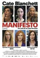Manifesto - Spanish Movie Poster (xs thumbnail)