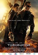 Terminator Genisys - Czech Movie Poster (xs thumbnail)