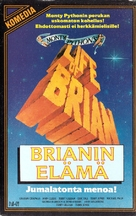 Life Of Brian - Finnish VHS cover (xs thumbnail)