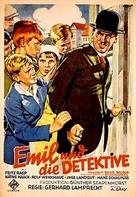Emil und die Detektive - German Movie Poster (xs thumbnail)