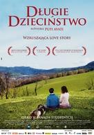 Una sconfinata giovinezza - Polish Movie Poster (xs thumbnail)
