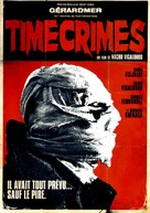 Los cronocrímenes - French DVD movie cover (xs thumbnail)