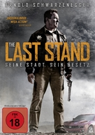 The Last Stand - German DVD cover (xs thumbnail)