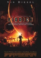 The Chronicles of Riddick - Italian Movie Poster (xs thumbnail)