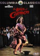 The Loves of Carmen - DVD cover (xs thumbnail)