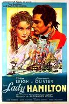 That Hamilton Woman - French Movie Poster (xs thumbnail)