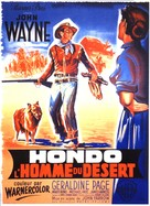 Hondo - French Movie Poster (xs thumbnail)