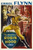The Adventures of Robin Hood - British Movie Poster (xs thumbnail)