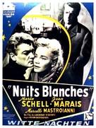 Notti bianche, Le - Belgian Movie Poster (xs thumbnail)