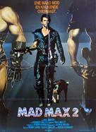 Mad Max 2 - Danish Movie Poster (xs thumbnail)