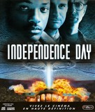 Independence Day - French Blu-Ray cover (xs thumbnail)