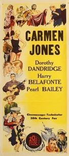 Carmen Jones - Australian Movie Poster (xs thumbnail)