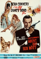 From Russia with Love - Swedish Movie Poster (xs thumbnail)