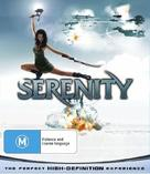 Serenity - Australian Blu-Ray movie cover (xs thumbnail)
