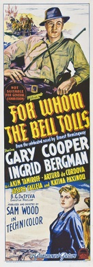 For Whom the Bell Tolls - Australian Movie Poster (xs thumbnail)