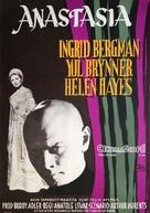 Anastasia - Swedish Movie Poster (xs thumbnail)