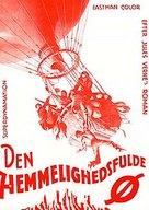 Mysterious Island - Danish Movie Poster (xs thumbnail)