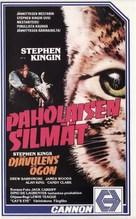 Cat's Eye - Finnish VHS cover (xs thumbnail)