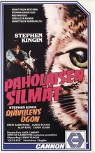 Cat's Eye - Finnish VHS movie cover (xs thumbnail)