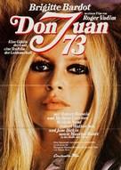 Don Juan ou Si Don Juan était une femme... - German Movie Poster (xs thumbnail)
