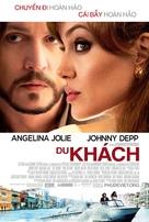 The Tourist - Vietnamese Movie Poster (xs thumbnail)