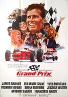 Grand Prix - Swedish Movie Poster (xs thumbnail)