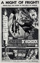 L'orribile segreto del Dr. Hichcock - Movie Poster (xs thumbnail)