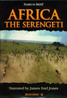Africa: The Serengeti - DVD cover (xs thumbnail)