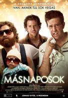 The Hangover - Hungarian Movie Poster (xs thumbnail)