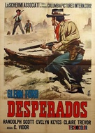 The Desperadoes - Italian Movie Poster (xs thumbnail)